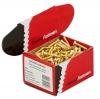 M4 x 6 Machine Screws - Metric - Csk Slot - Brass - Click for more info